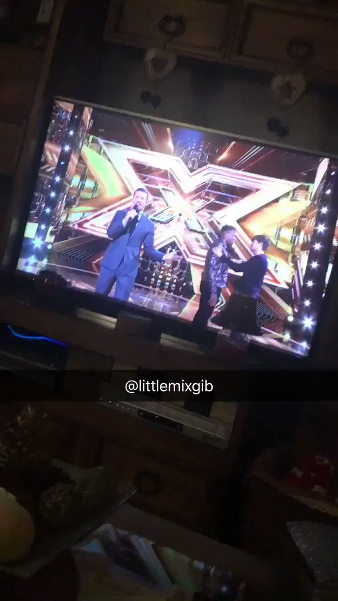 """I just recorded this incase Dermot said that Little Mix would be performing on #XFactor next week and yes they are ☺️ #WomanLikeMe """"The biggest girlband on the planet"""" 👏🏻😃"""