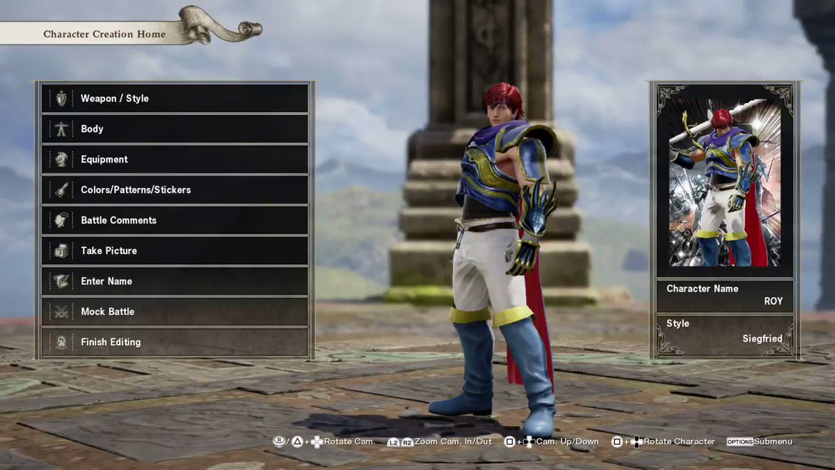 I AM ACTUALLY VERY HAPPY WITH HOW THIS CAME OUT IM SORRY IM YELLING #SCVI #PS4share @bandainamcous
