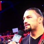 Roman Reigns Twitter Photo
