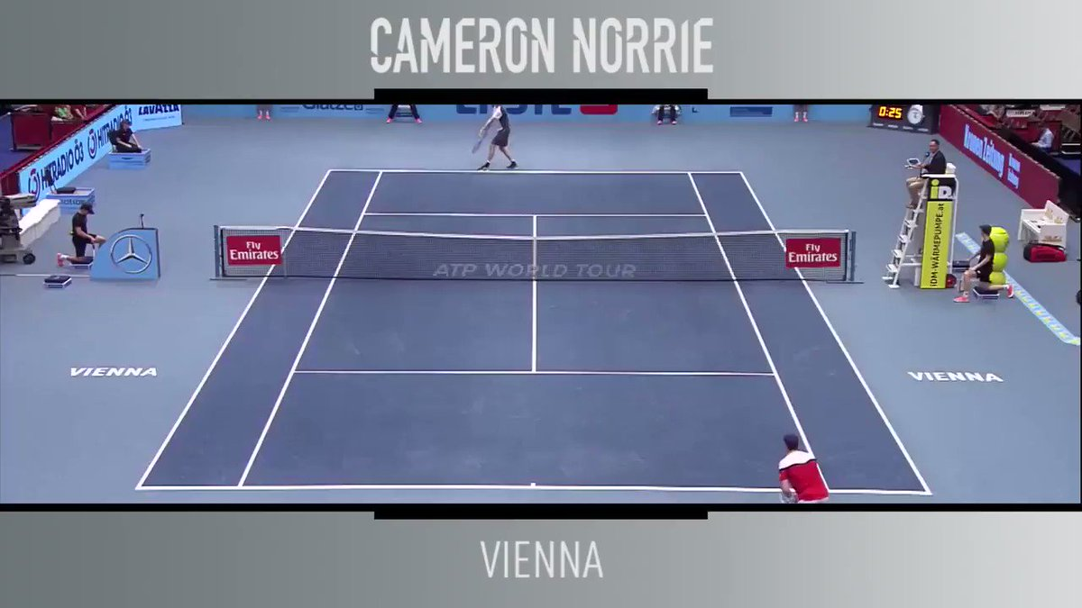 ⚡reaction time from @cam_norrie... Watch the @ErsteBankOpen on @TennisTV 📺