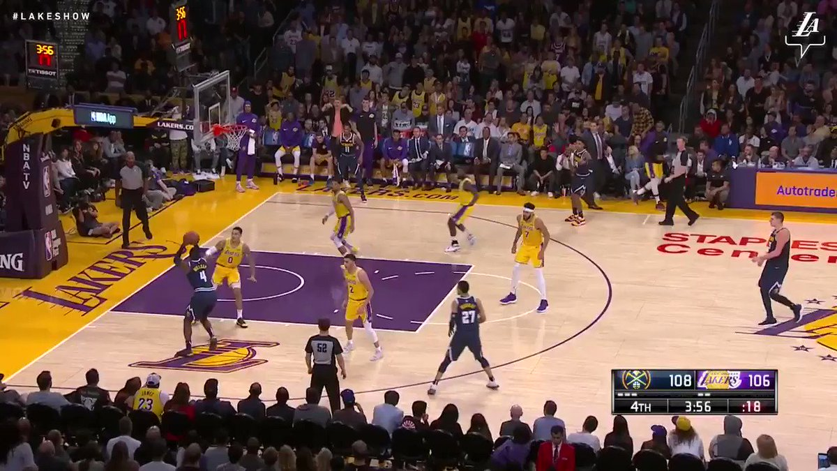 Lonzo Ball made a ton of key defensive plays in that fourth-quarter comeback. Total havoc-creator.