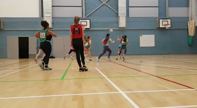 We're sad that it's the final day of the @jo_trip half term netball camp 😢 Thanks for your support and tips Jo! #netballfam #ThisGirlCan #learningfromthebest 🏐❤️💙