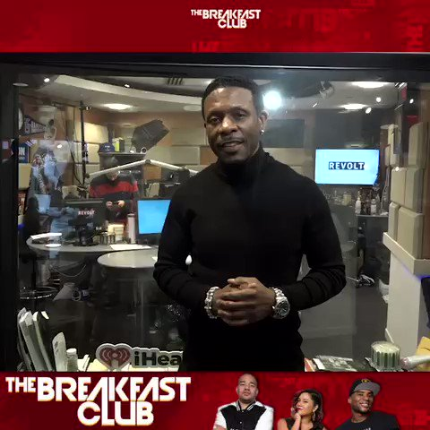"""Good Morning! Tune into the @breakfastclubam NOW as I talk about my new """"Playing For Keeps! Thanks @angelayee @cthagod and @djenvy for the continued support !"""