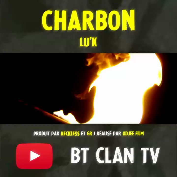"⚠️ NOUVEAU CLIP ! ⛏️ ""Charbon"" disponible ici ↙️ https://youtu.be/-5Pzh3zY55k"