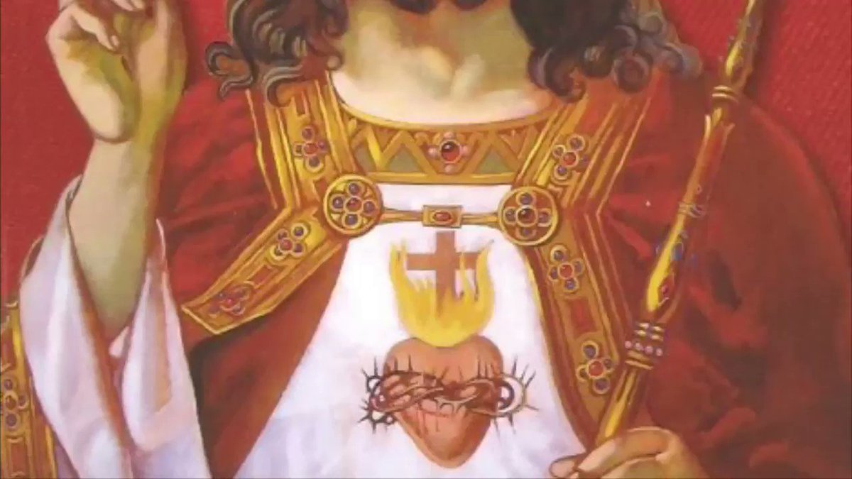 Image for the Tweet beginning: Christ conquers, Christ reigns, Christ