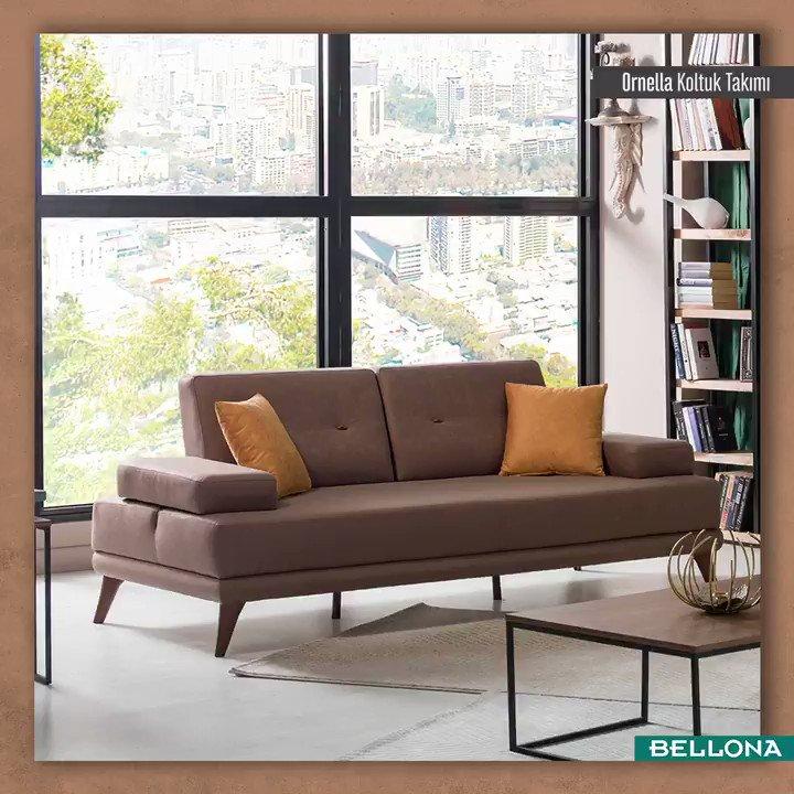 Dekorasyonda doğal görünümün ve konforun ön planda olduğu tasarımları beğeniyorsanız Ornella tam size göre! #Bellona #TarzArayanaBellona http://bit.ly/OrnellaBellona