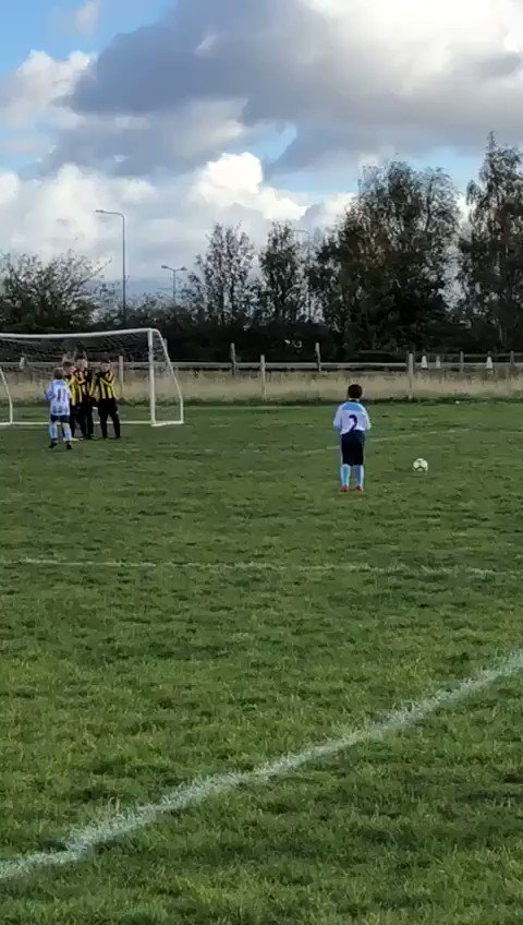 Watch this video of my sons free kick today......and still have a few seconds to spare!!!! #ThingsYouCanDoDuringPogbasPenaltyRunUp #HeIsAUnitedFanToo :)