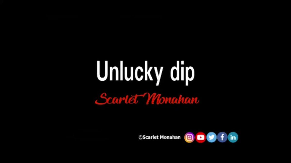 Unlucky dip. #poetry #poet #writer #art #poetrycommunity #poetrywriter #ScarletMonahan #love #words  23