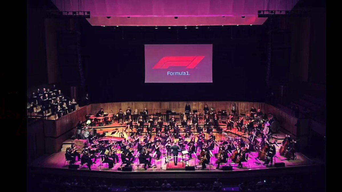 Congratulations @LewisHamilton  on winning your 5th world championship! To celebrate, I conducted the concert debut of my @F1  theme in London with the @Philharmonia  Orchestra! #Formula1  #LewisHamilton