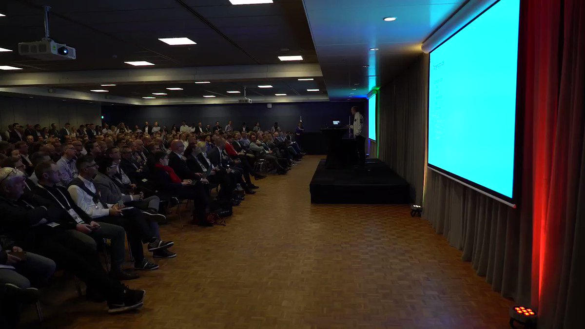 Here's a quick look at Day 1 with 700+ #MSPartners at the first two @1ClickFactory sessions at @DirectionsEMEA. Missed them? Email us at marketing@1clickfactory.com to request a copy of the presentations or come to our booth to chat! Read more https://bit.ly/2EhzRu5  #MSDyn365BC