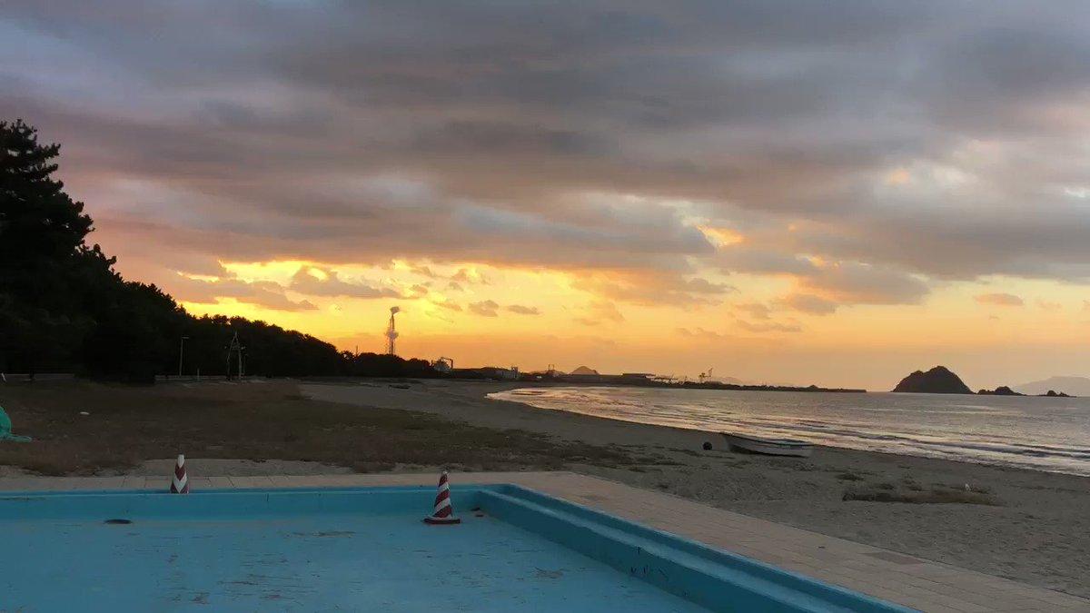 早く着き過ぎたから虹ヶ浜に来た…