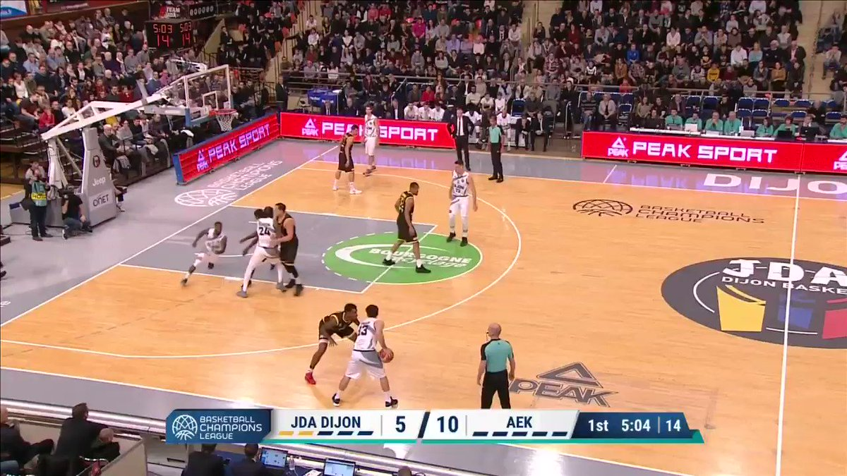 Image for the Tweet beginning: Meilleur marqueur de la @jdadijonbasket