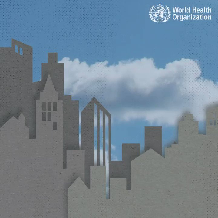 9 out of 10 people breathe polluted air, which kills 7 MILLION people every year. 😷😷😷😷😷😷😀😷😷😷 These are 10 things you must know about #AirPollution and its effects on health.
