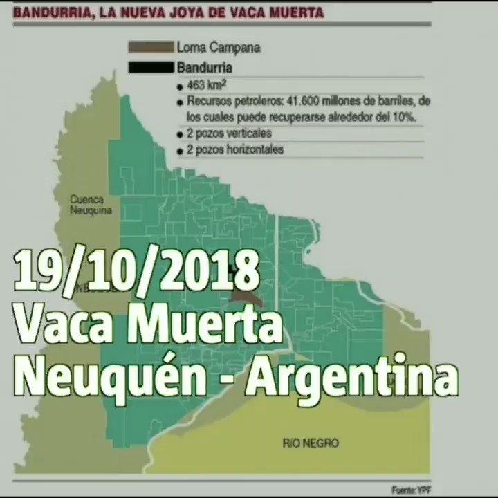 Campaña de Alerta Ambiental #CLATE #NoAlFracking #StopFracking #NãoFracking #Argentina #Neuquen #VacaMuerta Yacimiento Bandurria Sur  Fueron contaminados por el derrame 45 hectáreas