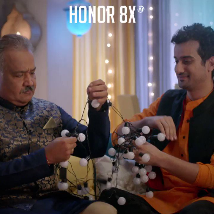 Warm Diwali homecomings, looking fabulous in a festive outfit or sharing gifts with your loved ones? Which festive Shine Out moment is most special for you? Share in the comments with the hashtag #ShineOutWithHonor8X & get a chance to win the superb stunner #Honor8X!