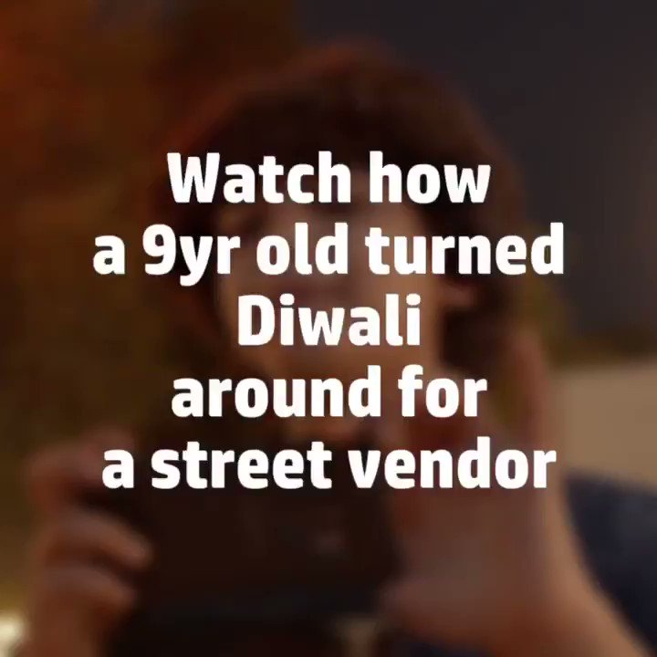 One small step taken by all of us can bring along a big difference in someone else's Diwali. Support the street vendors, our lights brighten their homes too. #TuJashnBan kisi ki zindagi ka, an HP India initiative. Watch the film now: https://t.co/OU5KAZALTY https://t.co/S1lAgp2QE2