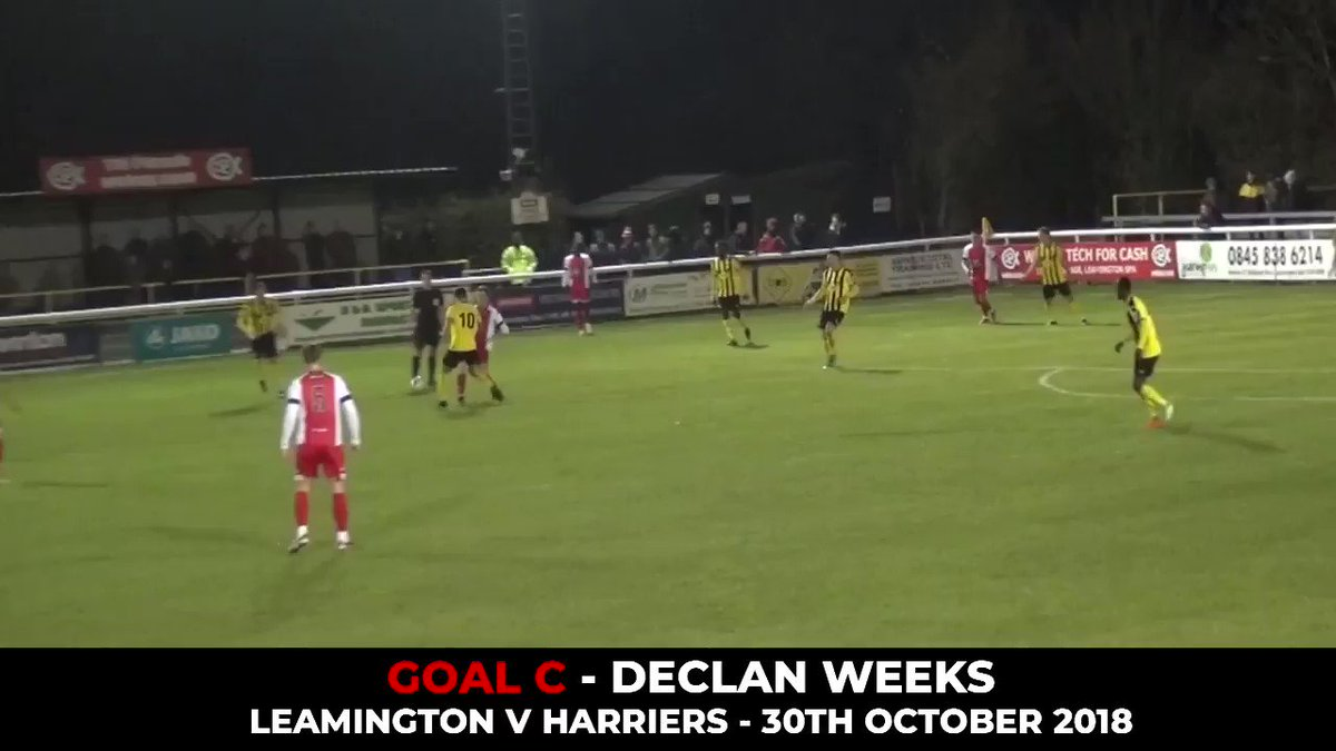Goal Of The Month: October 2018 - RT to vote! Declan Weeks rocketed this effort against Leamington, it your winner?