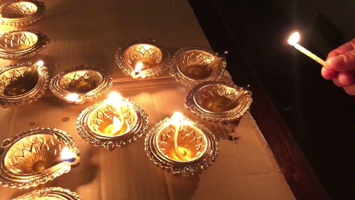 May the footsteps of Goddess Lakshmi fill your lives with optimism and prosperity. आप सभी को धनतेरस की हार्दिक शुभकामनाएँ। #Dhanteras