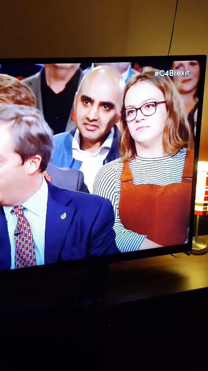 Student rolls her eyes behind politician during TV debate, goes super viral