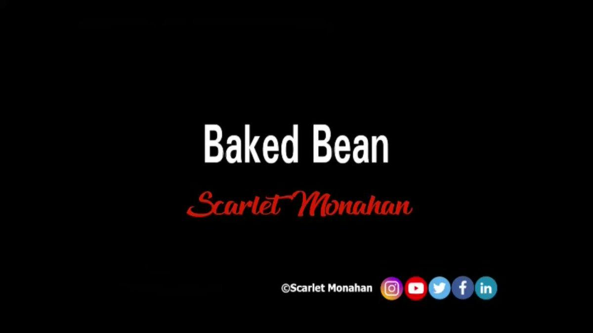 Baked Bean. #poetry #poet #writer #art #poetrycommunity #poetrywriter #ScarletMonahan #funny #lol   4