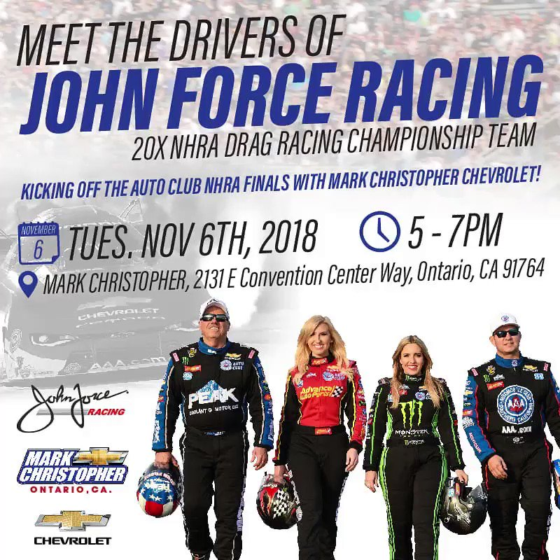 """courtney force on twitter: """"see you all tonight at mark christopher"""