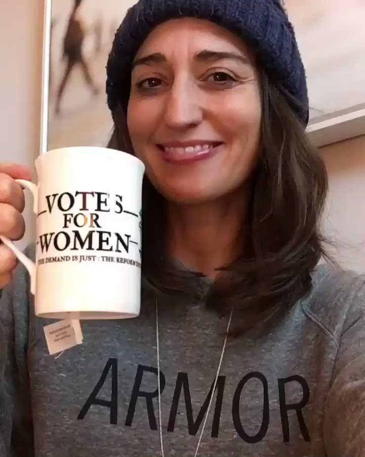 Hand me my armor ���� @SaraBareilles #Armor #GoVote https://t.co/WWxNQc8NEP