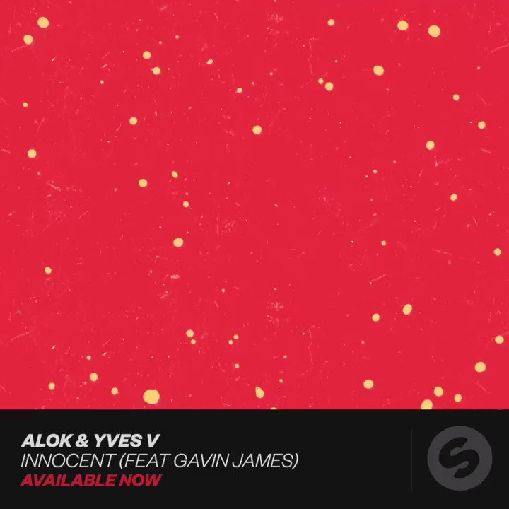 Its hard not to get hooked on @alokoficial & @yvesv ft. @gavinjames Innocent 😍 spinninrecords.release.link/innocent-feat-…