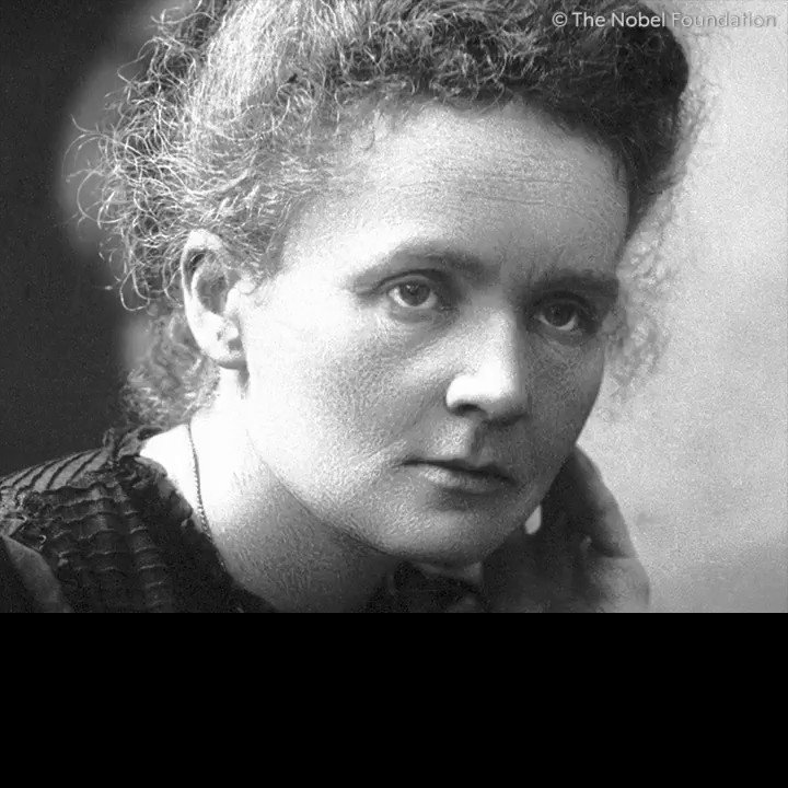 Marie Curie was a Nobel Laureate of many firsts: the first woman to be awarded a #NobelPrize, the first person to be awarded the prize twice and still the only person to receive the prize in two different scientific fields.