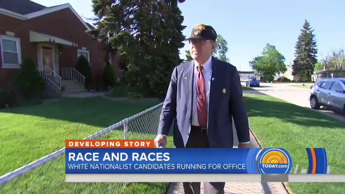 """This year I tracked white nationalists running for office. One of them — Arthur Jones — told me that black people were intellectually inferior and that my intelligence came from my """"white side."""" He just won 25% of the vote in his bid for Congress: 53,000 people voted for him."""