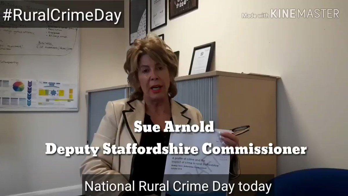 Staffordshire Commissioner's photo on #RuralCrime