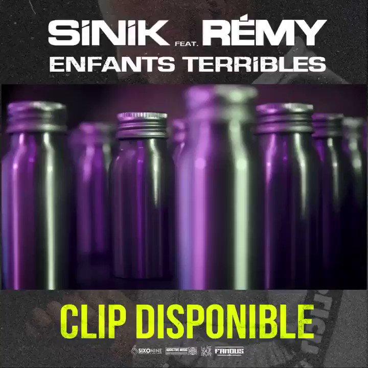 Nouveau clip dispo !! 🔥🔥🎬 #enfantsterribles SINIK x @Cestremy nouvel album : INVINCIBLE 25 janvier ! #teamsinik #famous #clip