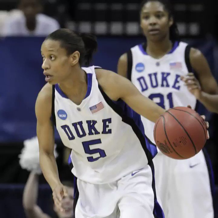 Weve got a special #TBT for @jaszthomas week, including her time with @DukeWBB.