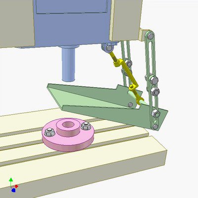 Mechanism for Catching Workpieces in Presses