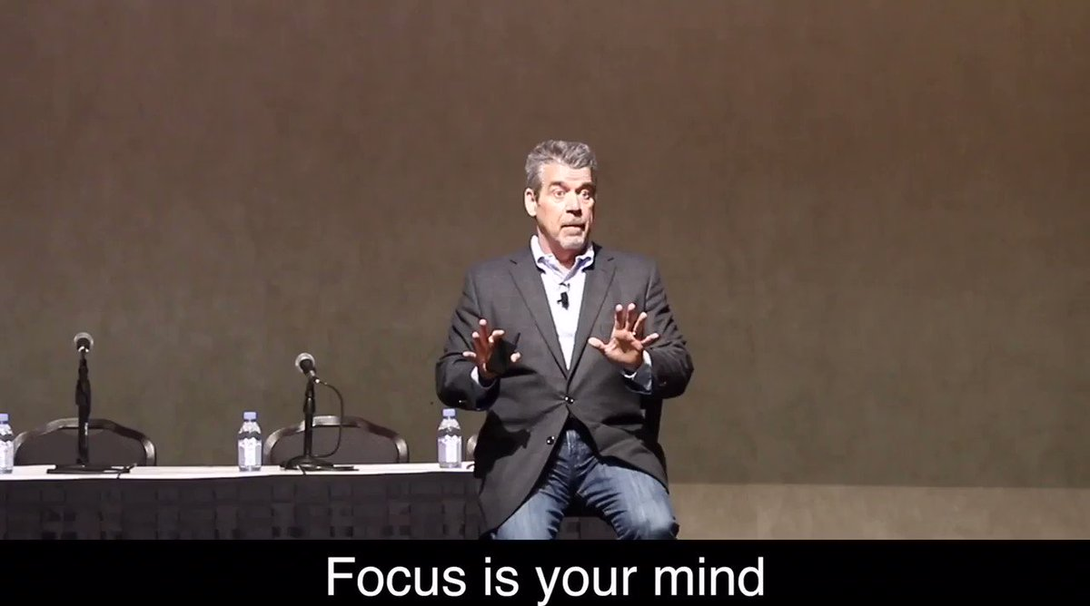 The power of focused attention and energy!