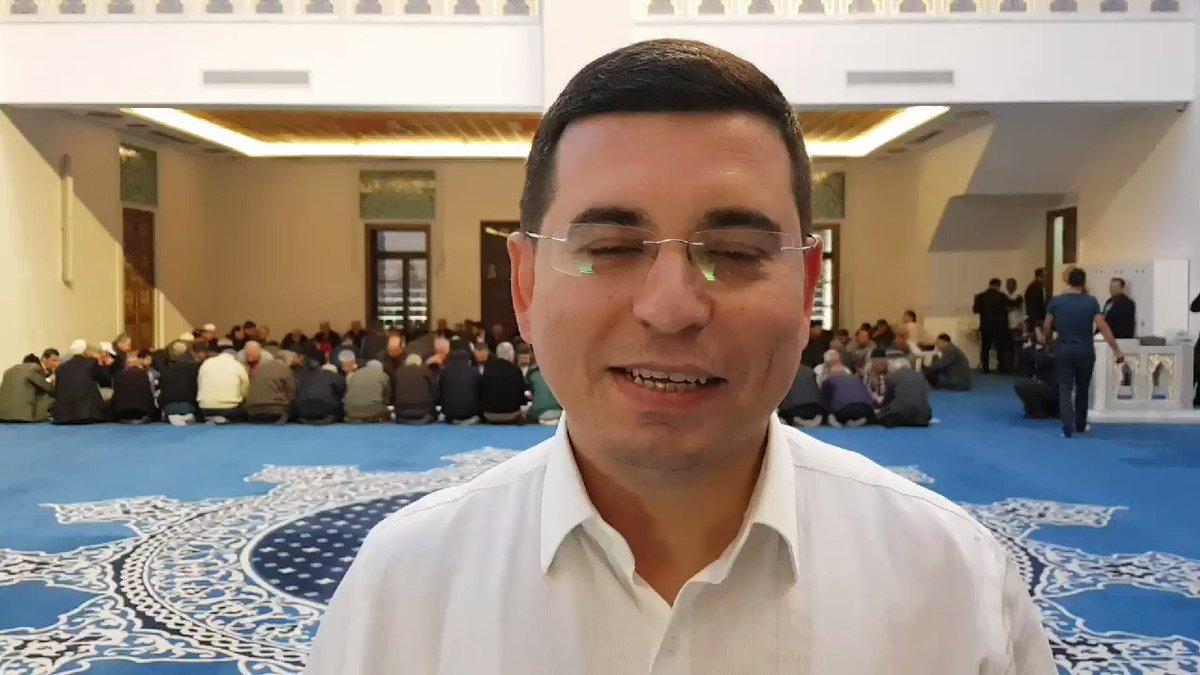 RT @HTutuncu: Çelebi Sultan Mehmed Camiinde hep birlikteyiz. Tüm gönül dostlarımıza hayırlı cumalar dileriz. https://t.co/3ZwB9MUIA2