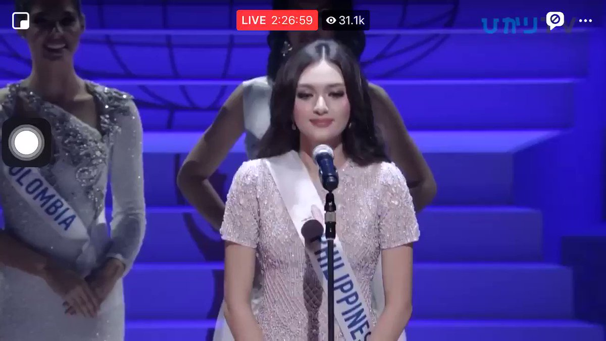RT @theAJdeleon: Ahtisa Manalo's full speech #MissInternational2018 https://t.co/3UKQGLzA45