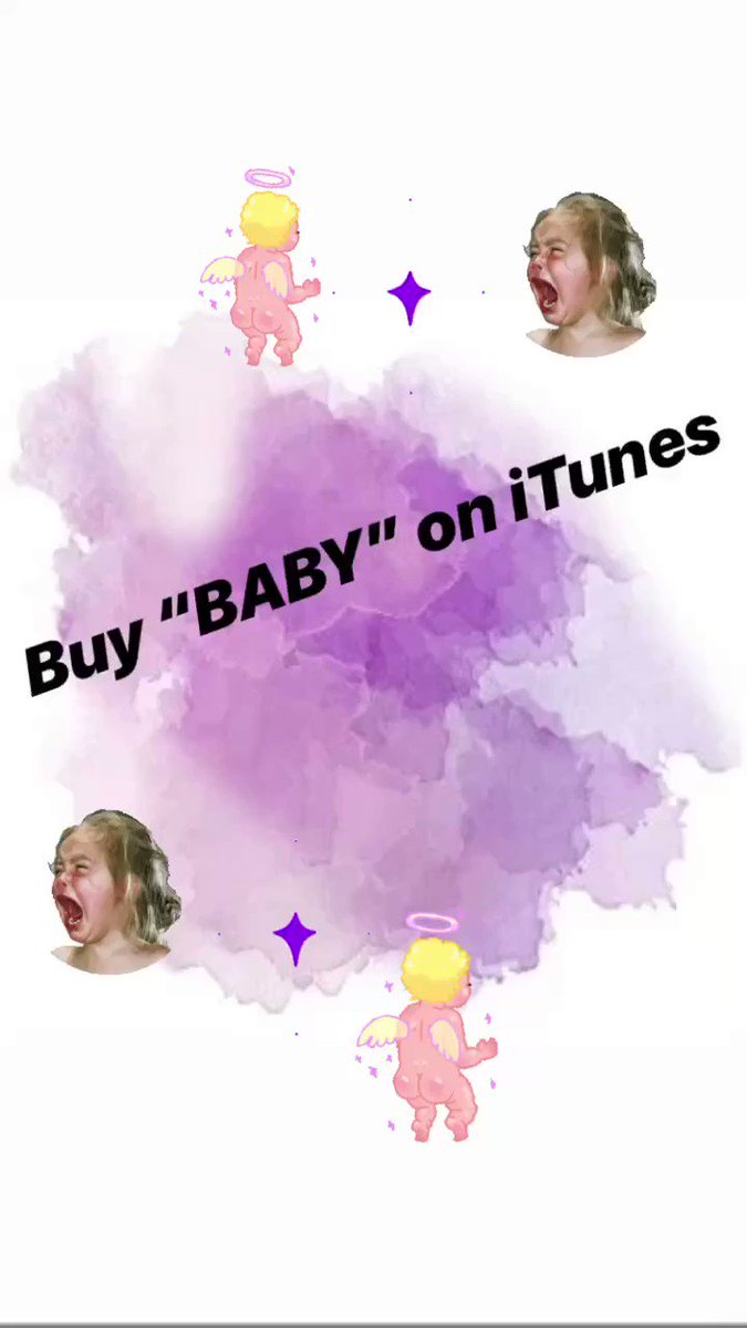 "Buy ""BABY"" here x atlanti.cr/Baby-iTunes"
