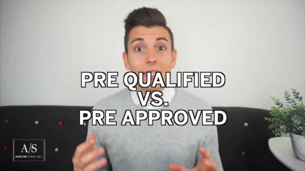 Should you get pre-qualified or pre-approved before shopping for a home? There's a difference, as explained by @AustinRS in this week's video >https://t.co/f3tVVJALDg