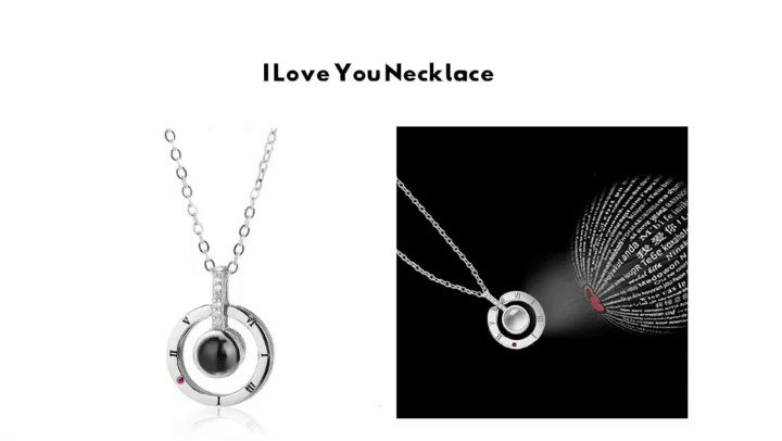 This necklace says I Love You in 100 different languages! alphaaccessories.co/collections/al…