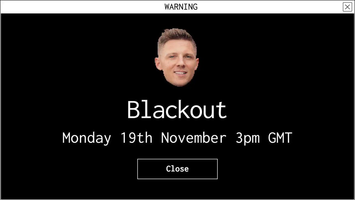 @bbeal12 You won't be missing out, we'll keep you in the loop ⚫️ See you at 3pm GMT on Monday 19th November.  Reply with #OptOut to cancel.   #GymsharkBlackout