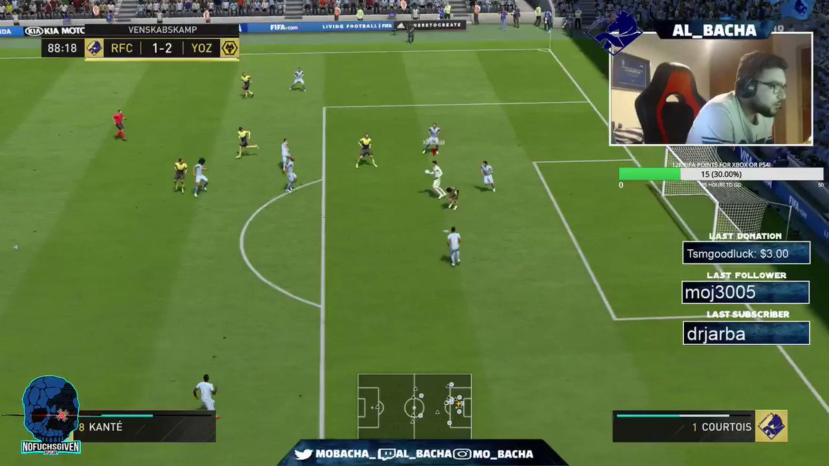 WHAT AM I SEEING. @mobacha_ just won his 3rd round in the 90th minute with this...