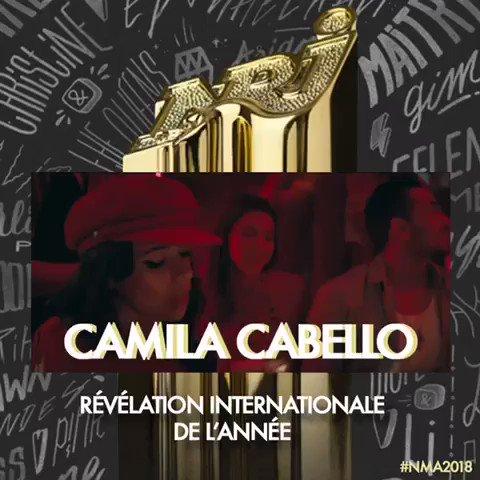 Congratulations @Camila_Cabello ! #NMA2018
