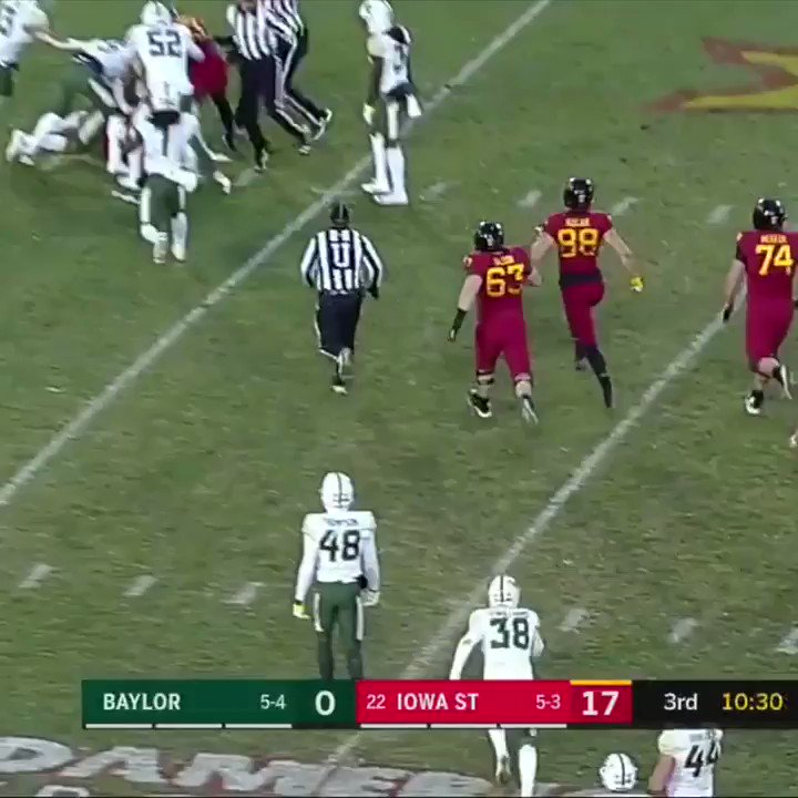 Baylor's QB got ejected for unsportsmanlike conduct, but there's more to it