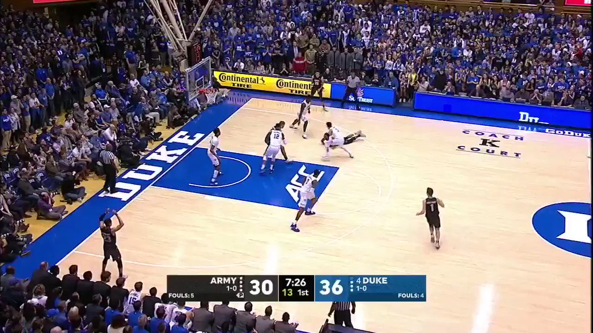 Zion cannot be stopped ��  He dropped 21 points in the first half and ONLY MISSED ONE FG. https://t.co/pGNDJUQYjY