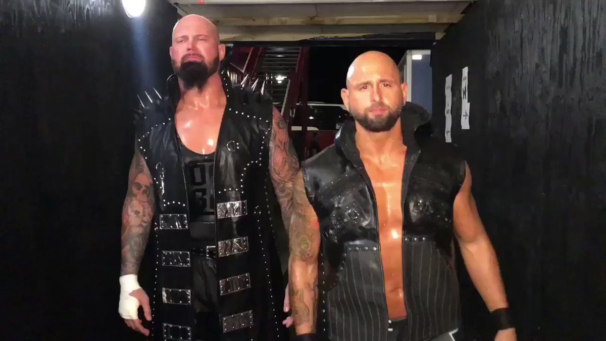 #WWEUKTour for your favorite #Brothers was 🔥 @LukeGallowsWWE @WWE