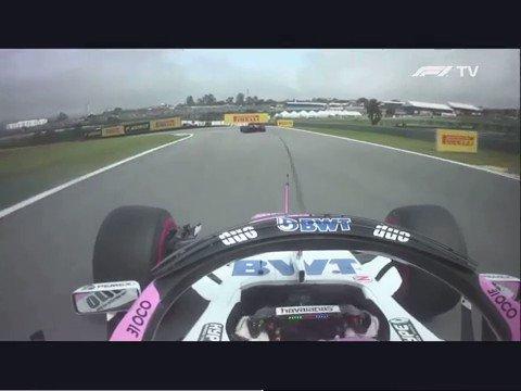 Formule 1 GP Brazilië: Onboard Ocon