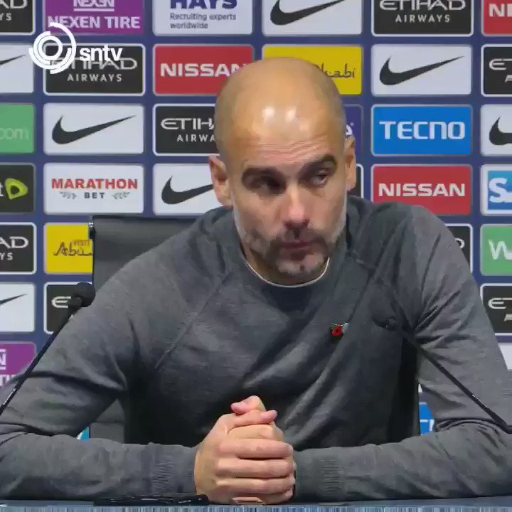 Pep Guardiola says that he told Raheem Sterling to 'avoid' showboating.