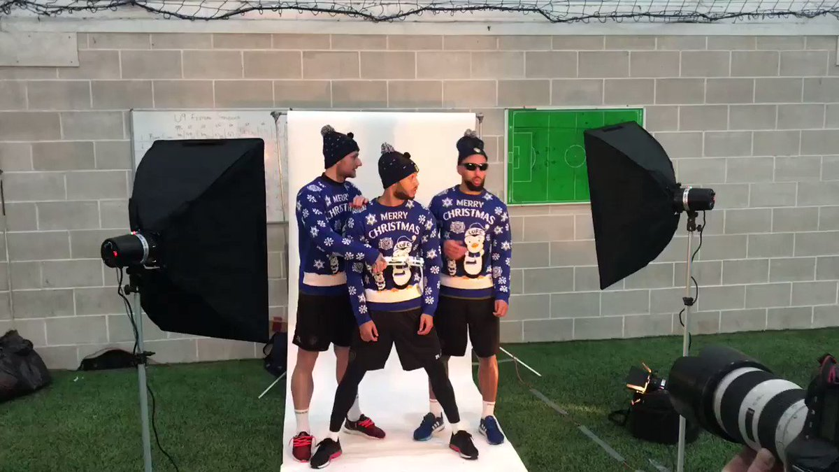 👀 EP coming soon! Head over to the #LUFC Instagram story as we go behind-the-scenes of today's Christmas shoot