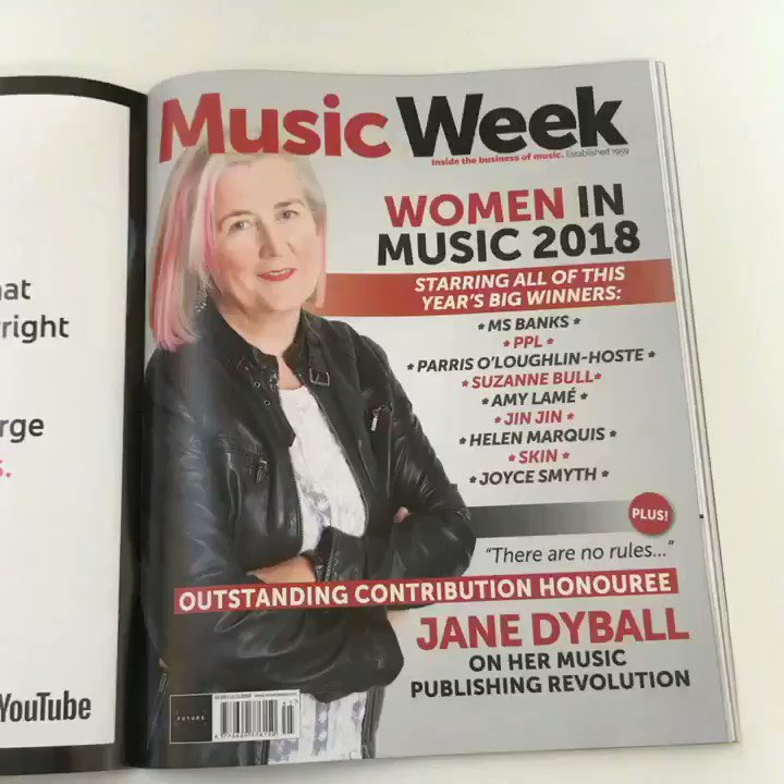 Check out our #WomenInMusic special issue https://t.co/et0bA9lNZB