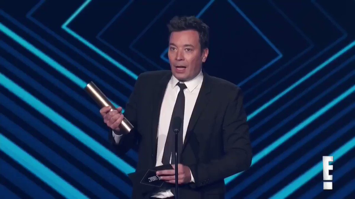 And I want to thank MY better half, my rock, my soulmate, my publicist @jimmyfallon... https://t.co/NZWRraEpCM https://t.co/146rWnOjSr